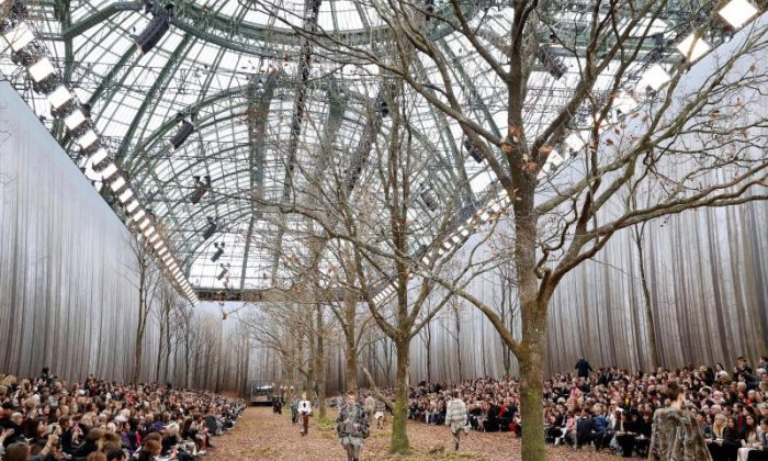 Chanel accused of cutting down 100-year-old trees for fashion show