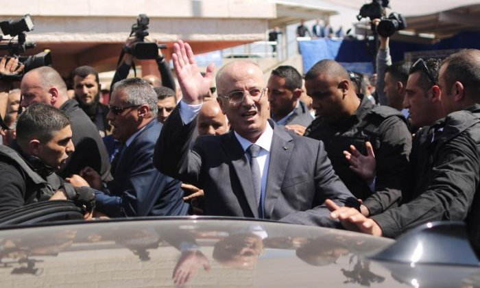 Palestinian Prime Minister Rami Hamdallah's convoy hit by explosion