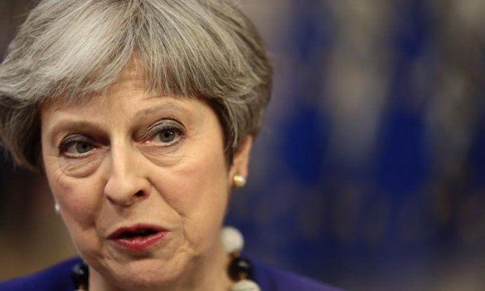 """I'm looking forward to talking about Brexit"" says May"
