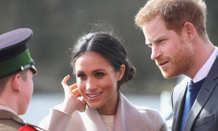 Prince Harry and Meghan Markle on visit to Northern Ireland