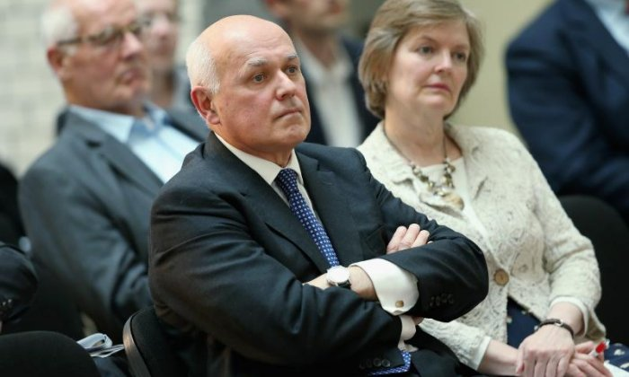 Iain Duncan Smith said the EU's sabre-rattling is really a show of weakness