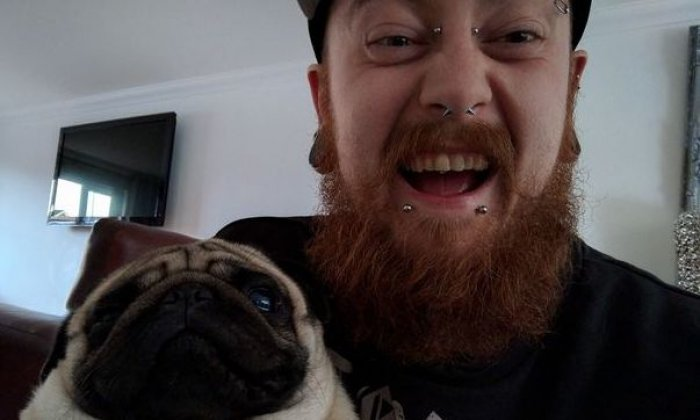Man guilty of hate crime for filming pug's 'Nazi salutes'