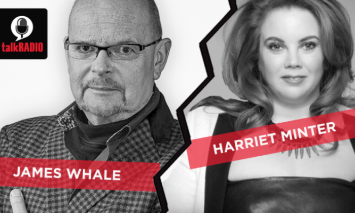 James Whale clashed with Harriet Minster in a veritable battle of the sexes