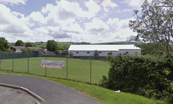 Landkey Primary School in Barnstaple was among the schools targeted