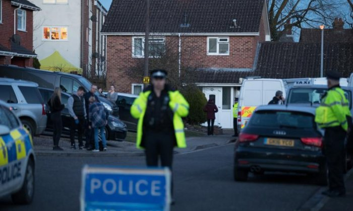 Police search the home of Sergei Skripal as the outcry surrounding his poisoning continues