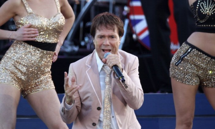 Sir Cliff Richard, pictured performing at the Diamond Jubilee concert in June 2012, has sued the BBC