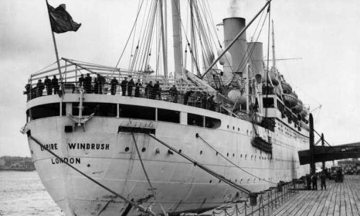 The liner 'Empire Windrush'