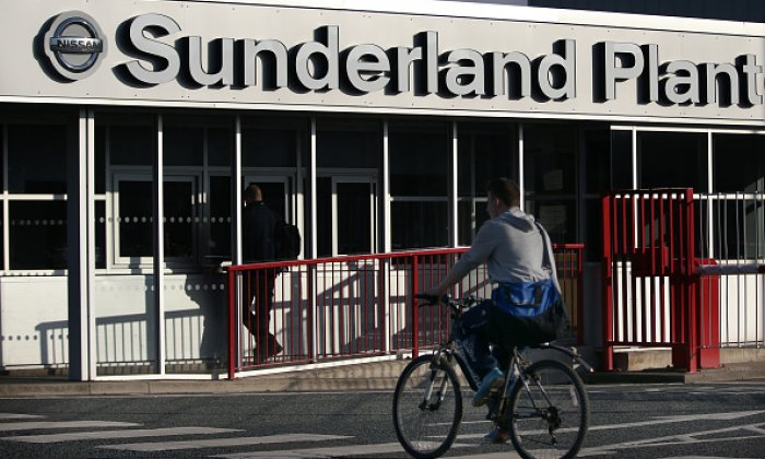 About 7,000 workers are employed at Nissan's Sunderland site