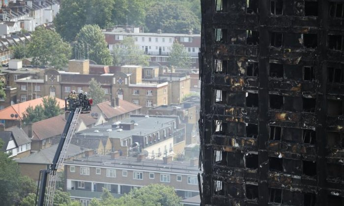 Muhammad Gamoota claimed to live in the tower in an attempt to get money from a victims' fund