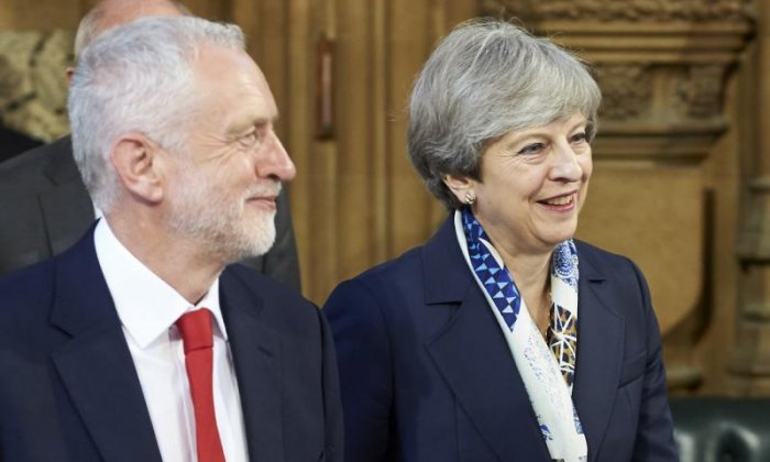 Jeremy Corbyn and Theresa May will again clash on the merits of taking military action in Syria