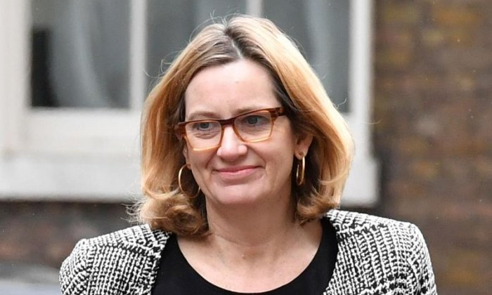 Home Secretary says police cuts not to blame for rise in violence