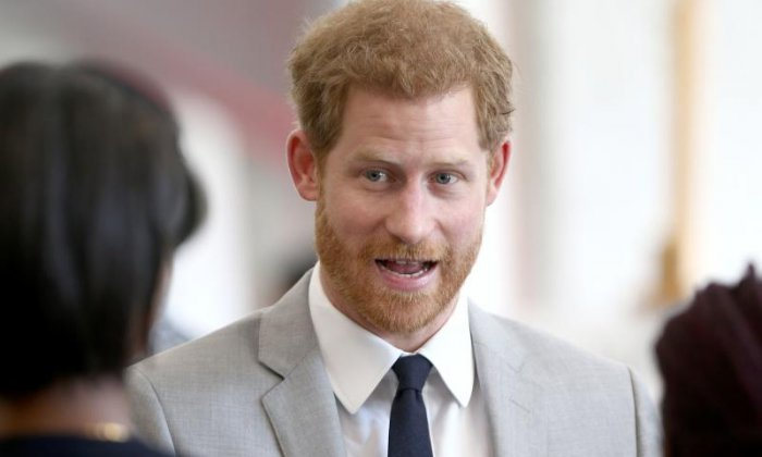 Prince Harry's sweet shout out to Meghan Markle in official address