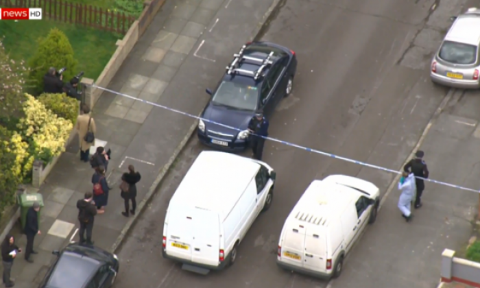 The incident took place at South Park Crescent, Hither Green