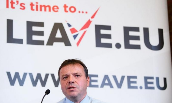 Leave.EU campaign fined £70,000 for overspending and 'inaccurate' finance reports