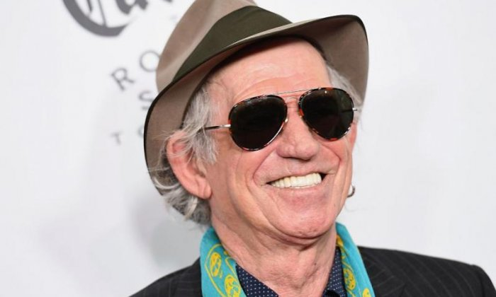 Keith Richards: America 'has to get rid' of Trump