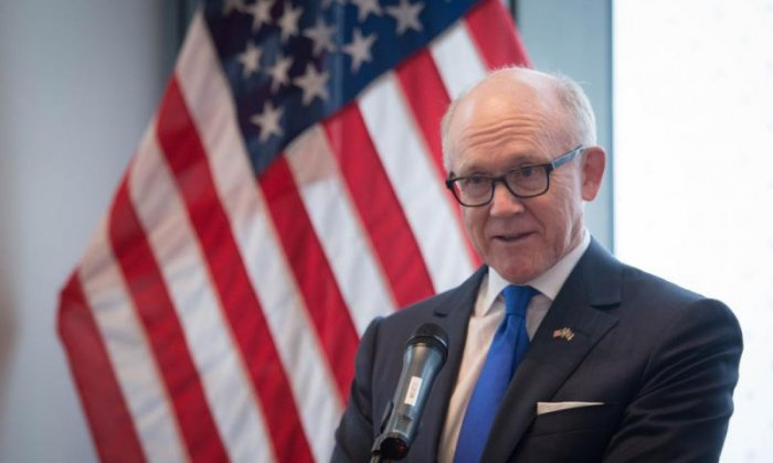 Exclusive: US Ambassador to the UK says Trump isn't worried about protests when he visits