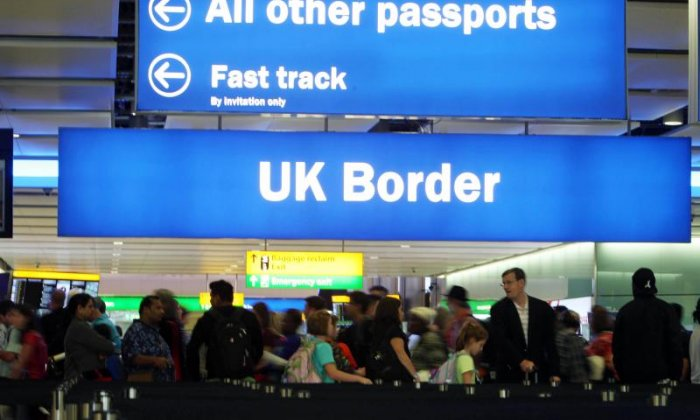 Migration to Britain from the European Union 'lowest for five years'