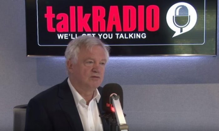 David Davis: 'I couldn't deliver the Brexit proposal as I don't believe in it'