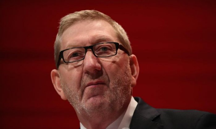 Len McCluskey, general secretary of Unite, said Theresa May has lost all authority