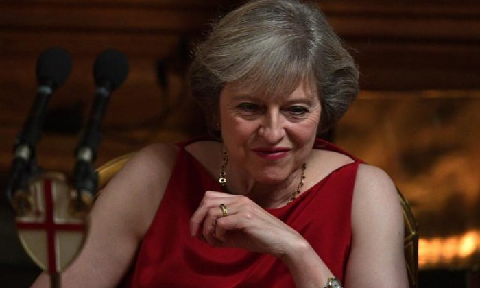 Mrs May also referred to her love of walking when asked how she copes with the stresses of life in Number 10