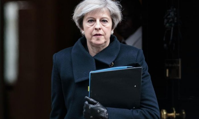 May believes the EU suggestions will go against the Good Friday Agreement