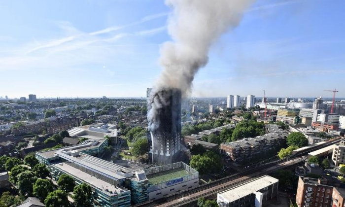 Firefighter Martin Gillam told the public inquiry how his team had rescued a woman trapped near the top of Grenfell Tower