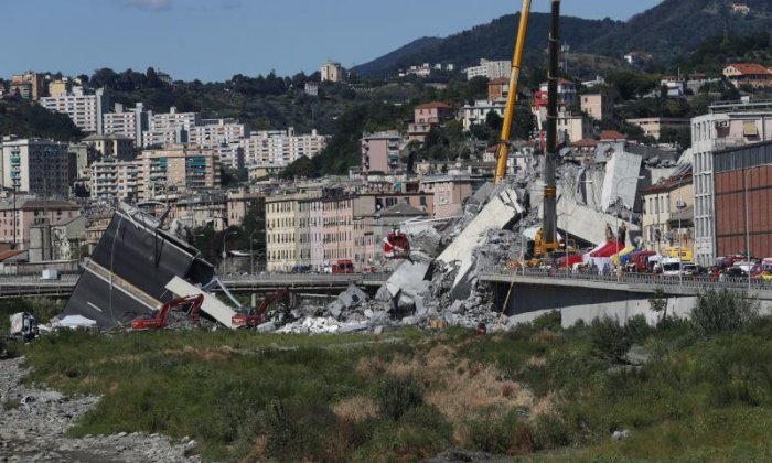 State of emergency declared in Italy after Genoa bridge collapse