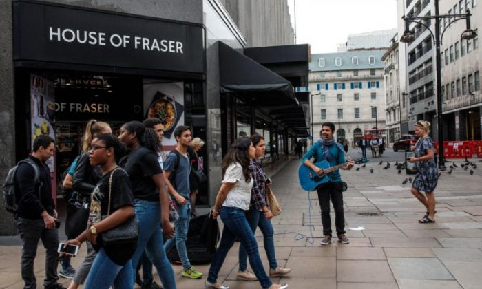 House of Fraser on brink of collapse as investor pulls out