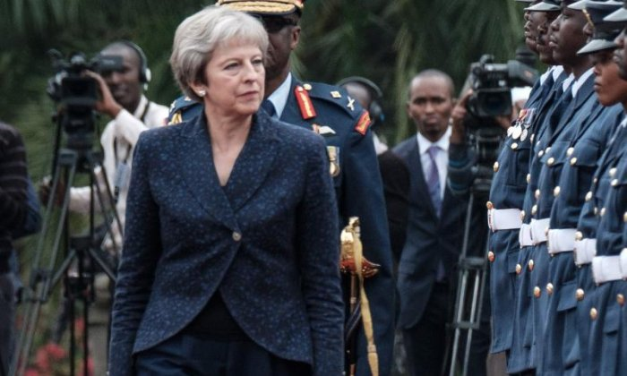 Theresa May commits to new funding for combating terrorism in Kenya