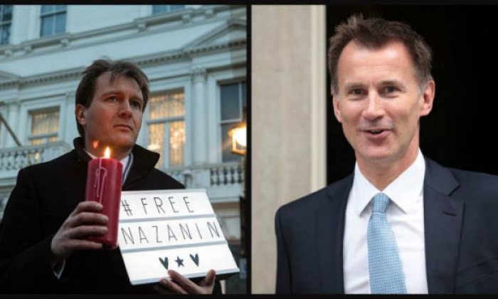 Richard Ratcliffe: Jeremy Hunt has done 'everything he's asked him to'