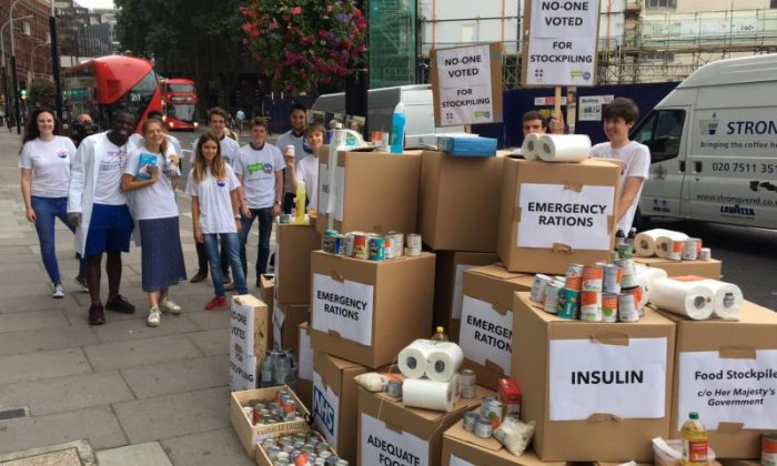 Our Future, Our Choice stages stockpiling protest outside Department of Health