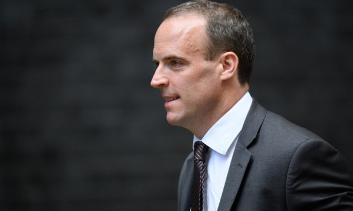 "Dominic Raab brands calls for a second referendum as ""nonsense"" and ""undemocratic"""