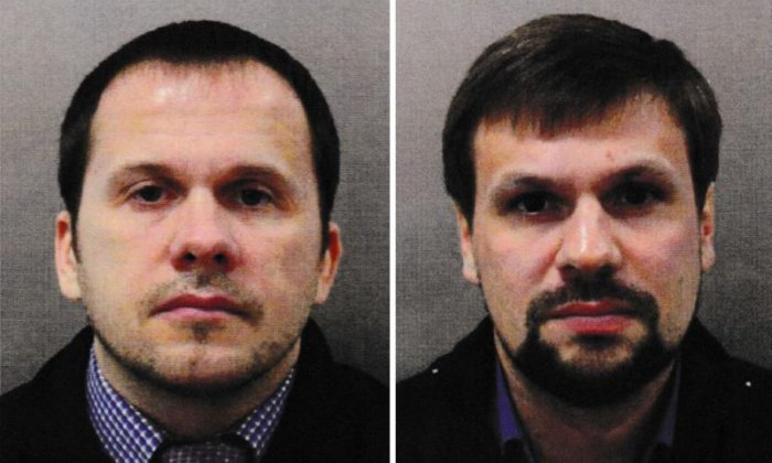 United Kingdom names two Russian nationals as suspects in Salisbury Novichok attack