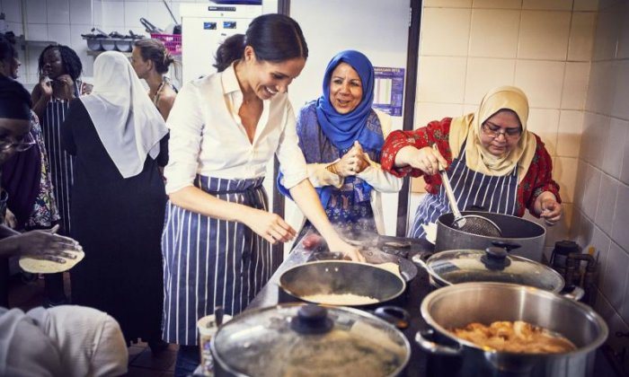 Meghan's first solo project: supporting a Grenfell community cookbook
