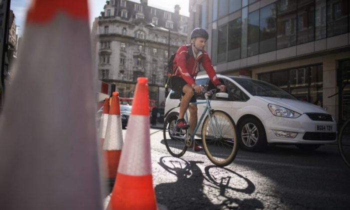 Woman dies after collision with cyclist