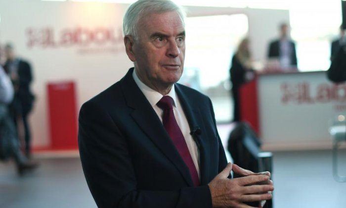 John McDonnell: 'We'll have a People's Vote only if we can't get a General Election'