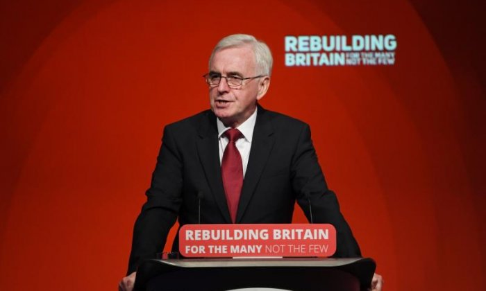Workers could be £500 a year better off under Labour, says John McDonnell