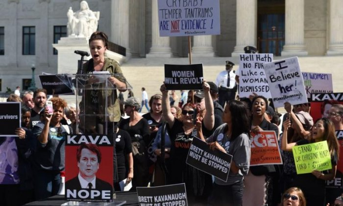 The right side of the pond: Why Trump's fans are supporting Brett Kavanaugh