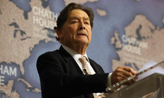 Nigel Lawson: Theresa May has been 'consumed by political ambition' amid claims her leadership is under threat