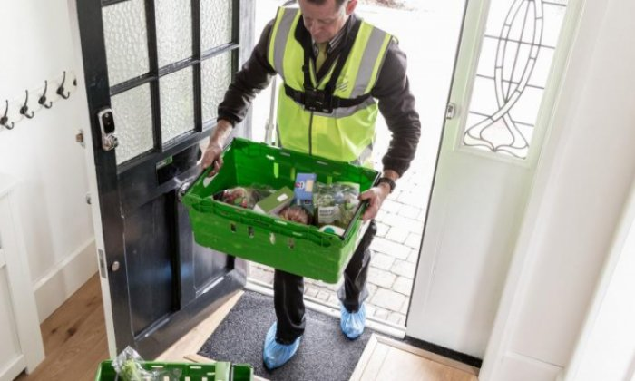 Waitrose delivers into the home while customers are out