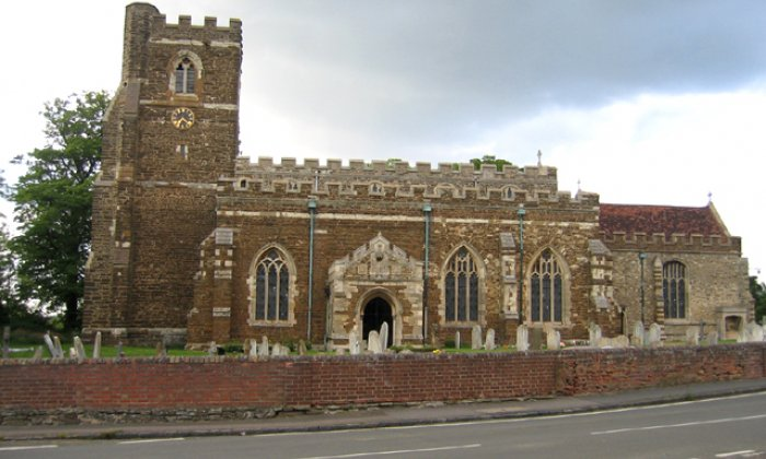 Thieves steal entire roof off Grade I listed church