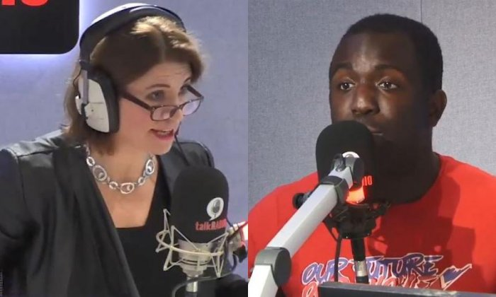 Femi Oluwole challenges Julia Hartley-Brewer to explain the single market 'in detail'