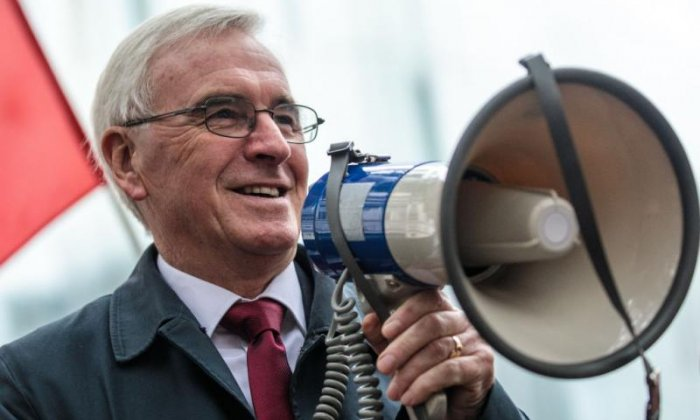 John McDonnell defends Labour's Julia Hartley-Brewer ban: 'She upset people, and we can't have that'