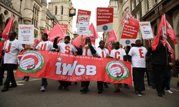 GMB Organiser: 'Uber want to get away with as little cost to them as possible'
