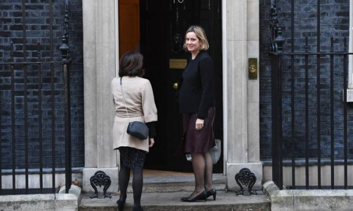 Amber Rudd back in cabinet as work and pensions secretary