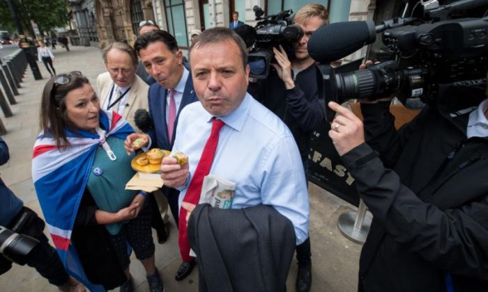 Arron Banks and Leave.EU associates referred to the National Crime Agency