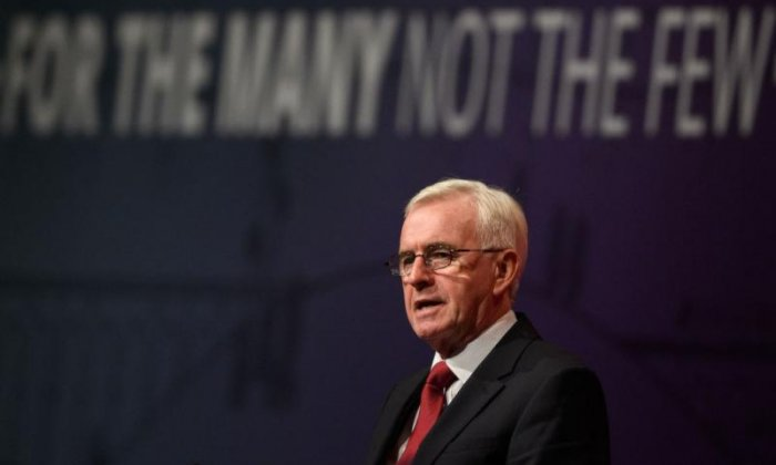 Exclusive: John McDonnell begins to prepare for Treasury takeover in case of 'government collapse' over Brexit deal vote