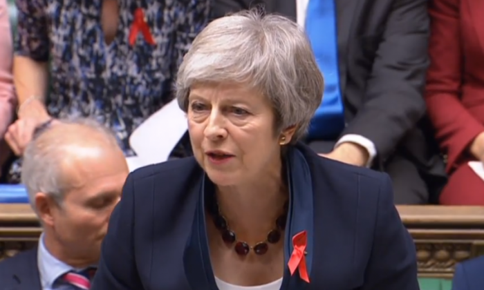 Theresa May 'will take no lectures' from Corbyn who has seen '100 frontbench resignations'