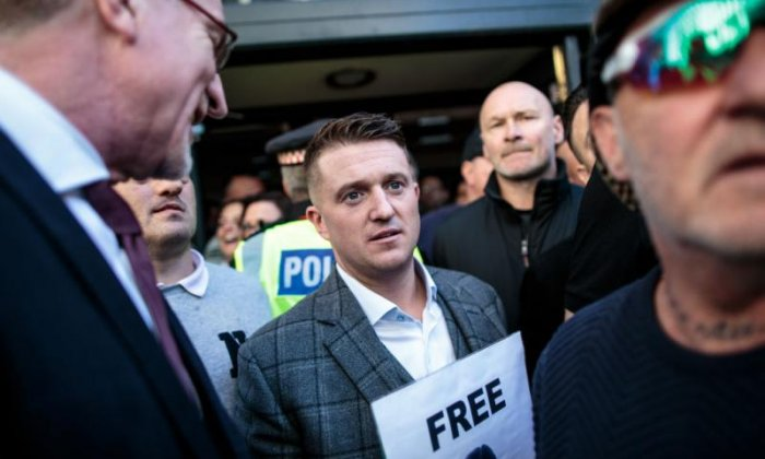 Tommy Robinson appointment is a 'demonstration' of 'overt' racism, says author