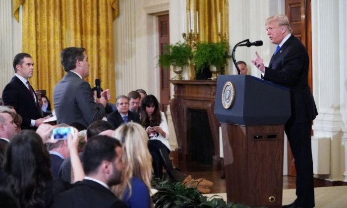 White House ordered to return CNN reporter's pass